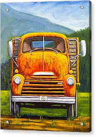 Cabover Truck Acrylic Print