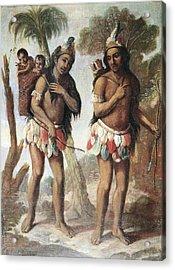 Cabrera, Miguel 1695-1768. Barbarian Acrylic Print