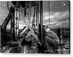Cac01bw-26 Acrylic Print by Cooper Ross