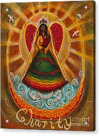Cachita Madonna Acrylic Print