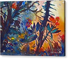Cactus Flowers Acrylic Print by Jessamine Barron