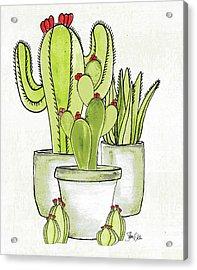 Cactus I Acrylic Print