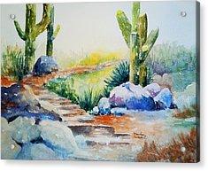 Cactus Trail Acrylic Print