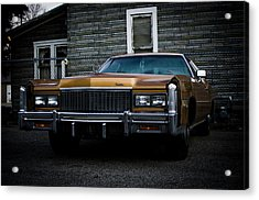 Caddy  Acrylic Print by Off The Beaten Path Photography - Andrew Alexander
