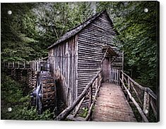 Cades Cove Rustic Cable Mill  Acrylic Print