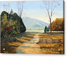 Cades Cove Acrylic Print by Tommy Thompson