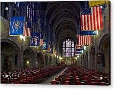 Cadet Chapel At West Point Acrylic Print
