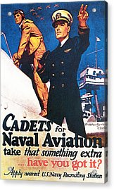 Cadets For Naval Aviation Take That Acrylic Print