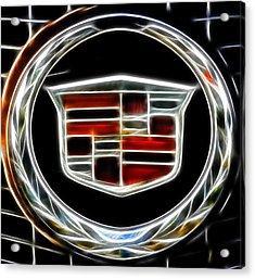 Cadillac Emblem B Acrylic Print