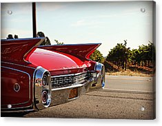 Cadillac In Wine Country  Acrylic Print