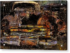 Acrylic Print featuring the digital art Cadillac by Jim Vance