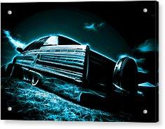 Cadillac Lowrider Acrylic Print by motography aka Phil Clark