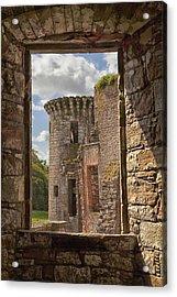 Caerlaverock Castle Acrylic Print by Eunice Gibb