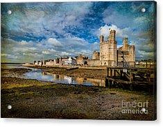 Caernarfon Castle Acrylic Print