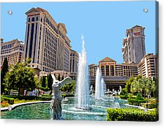 Caesars Palace Acrylic Print
