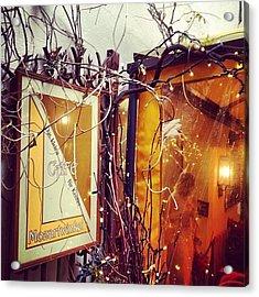 #café #mozartwinkel #salzburg Acrylic Print