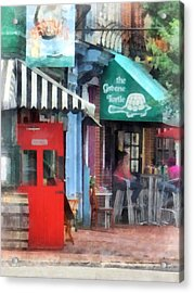 Cafe Fells Point Md Acrylic Print