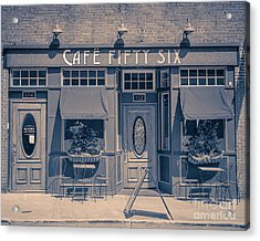 Cafe Fifty Six Middletown Connecticut Acrylic Print