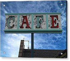 Cafe Acrylic Print by Glenn McCarthy Art and Photography