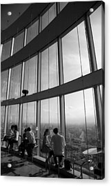 Cafe In The Sky Acrylic Print