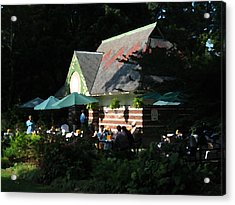 Cafe In The Trees Acrylic Print