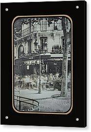 Cafe Le Metro - Paris Acrylic Print