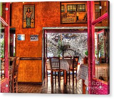 Cafe Municipal Acrylic Print by Andreas Thust