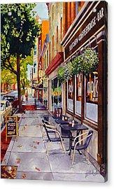 Cafe Nola Acrylic Print
