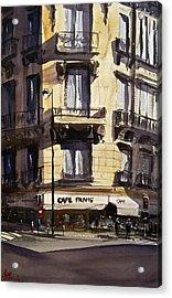 Cafe Panis Acrylic Print