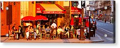 Cafe, Paris, France Acrylic Print by Panoramic Images