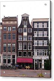Cafe Pollux Amsterdam Acrylic Print