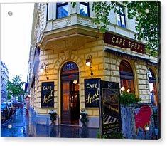 Cafe Sperl Vienna Acrylic Print