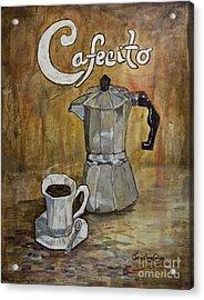 Cafecito Acrylic Print