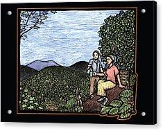 Cafetal Acrylic Print by Ricardo Levins Morales