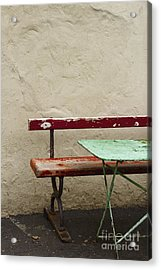 Cafeteria Acrylic Print by Margie Hurwich