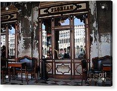 Caffe Florian - Venetian Icon Acrylic Print by Jacqueline M Lewis
