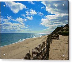 Cahoon Hollow Beach Acrylic Print