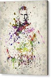 Cain Velasquez Acrylic Print by Aged Pixel