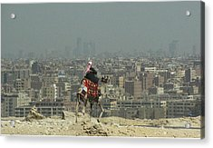 Acrylic Print featuring the photograph Cairo Egypt by Jennifer Wheatley Wolf