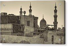 Cairo Skyline II Acrylic Print