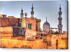 Cairo Skyline Acrylic Print