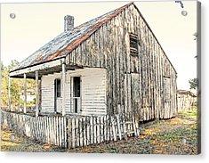 Cajun Cabin Acrylic Print