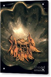Cajun Cornucopia Acrylic Print by Joe Jake Pratt