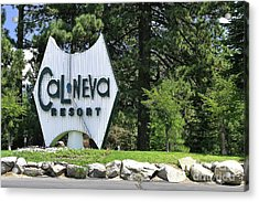 Cal Neva Resort - Lake Tahoe Acrylic Print