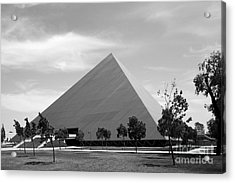 Cal State University Long Beach Walter Pyramid Acrylic Print by University Icons