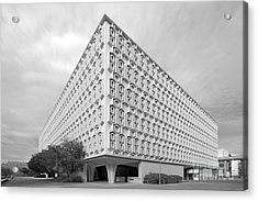 Cal State University Pollak Library Acrylic Print by University Icons