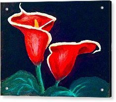 Cala Lilly Acrylic Print