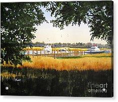 Calabash Pier Acrylic Print