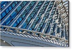 Calatrava In The Morning Acrylic Print by Mary Machare