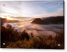 Caldera Sunrise Acrylic Print